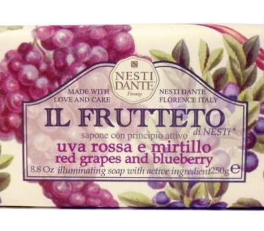 Nesti Dante Crveno grožđe i borovnica 250gr Il Fruteto